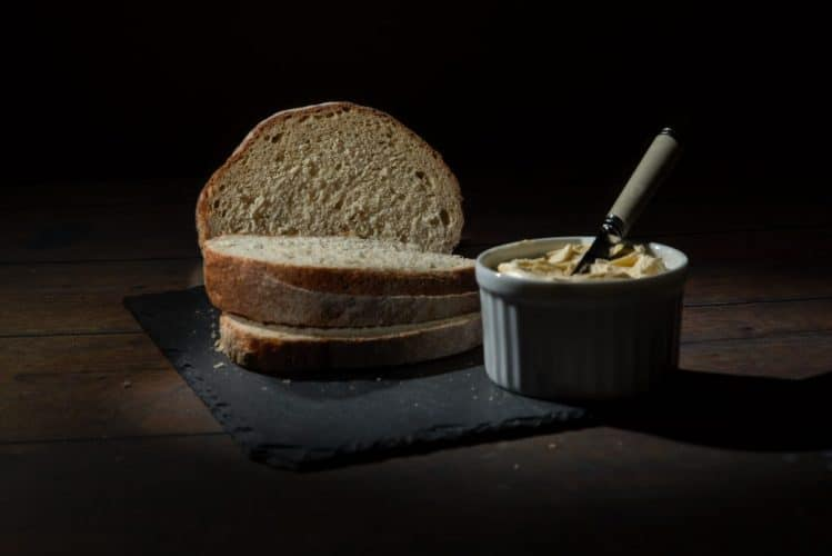 MacReady Artisan Bread Company- bread and butter