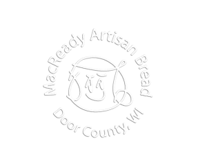 MacReady Artisan Bread Logo- White